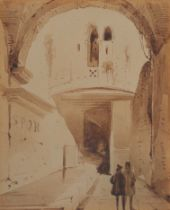 Aquarell, Rom?, 19. Jahrhundert
