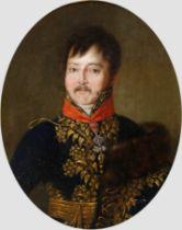 König von Neapel, Gemälde, Empire um 1800