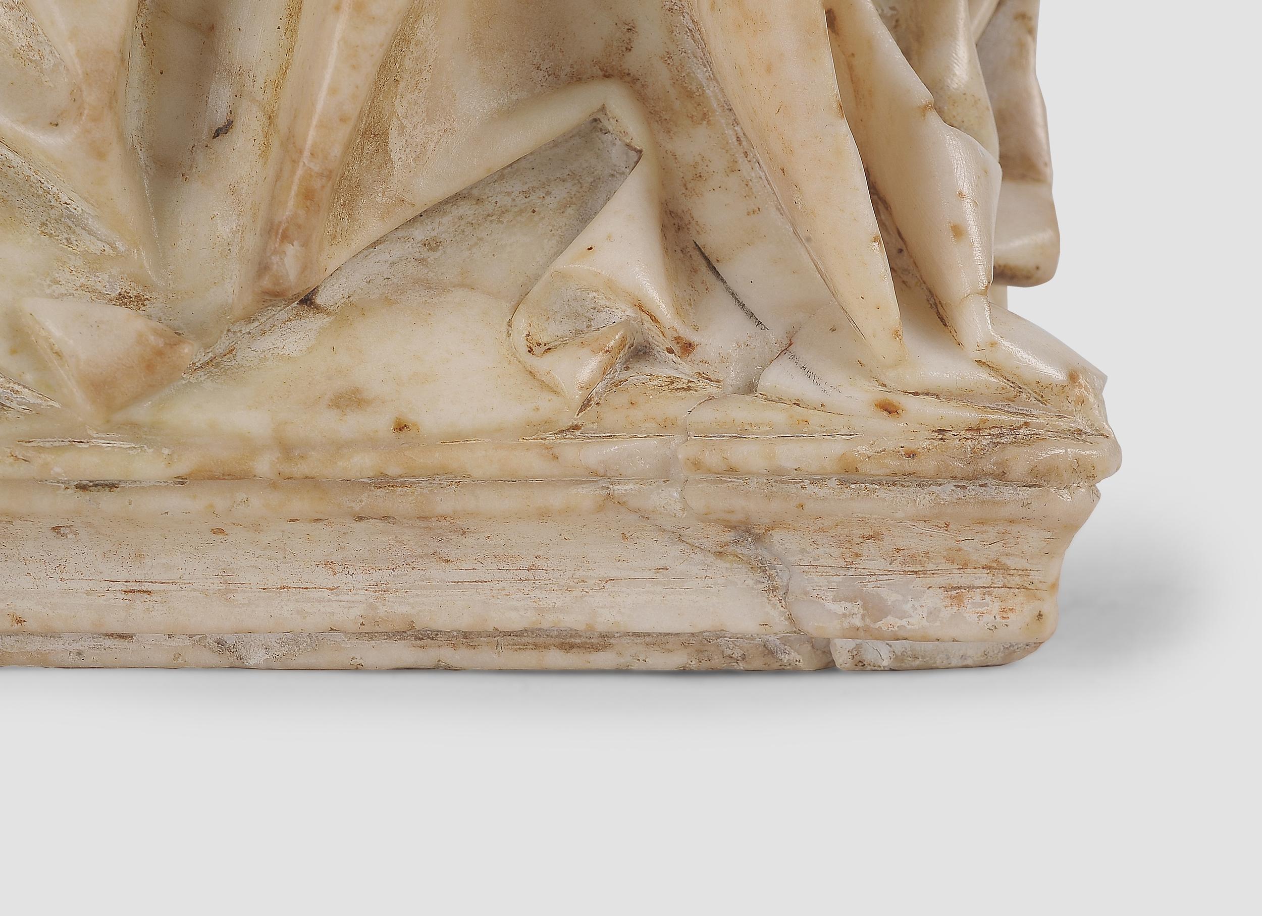 Gil de Siloe, Antwerpen 1440 – 1501 Burgos (und Werkstatt), Sitzende Madonna, um 1485/90 - Image 23 of 25
