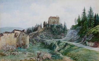 Thomas Ender, Wien 1793 – 1875 Wien, Bruneck, Aquarell