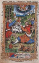 Buchmalerei, Illumination, um 1500