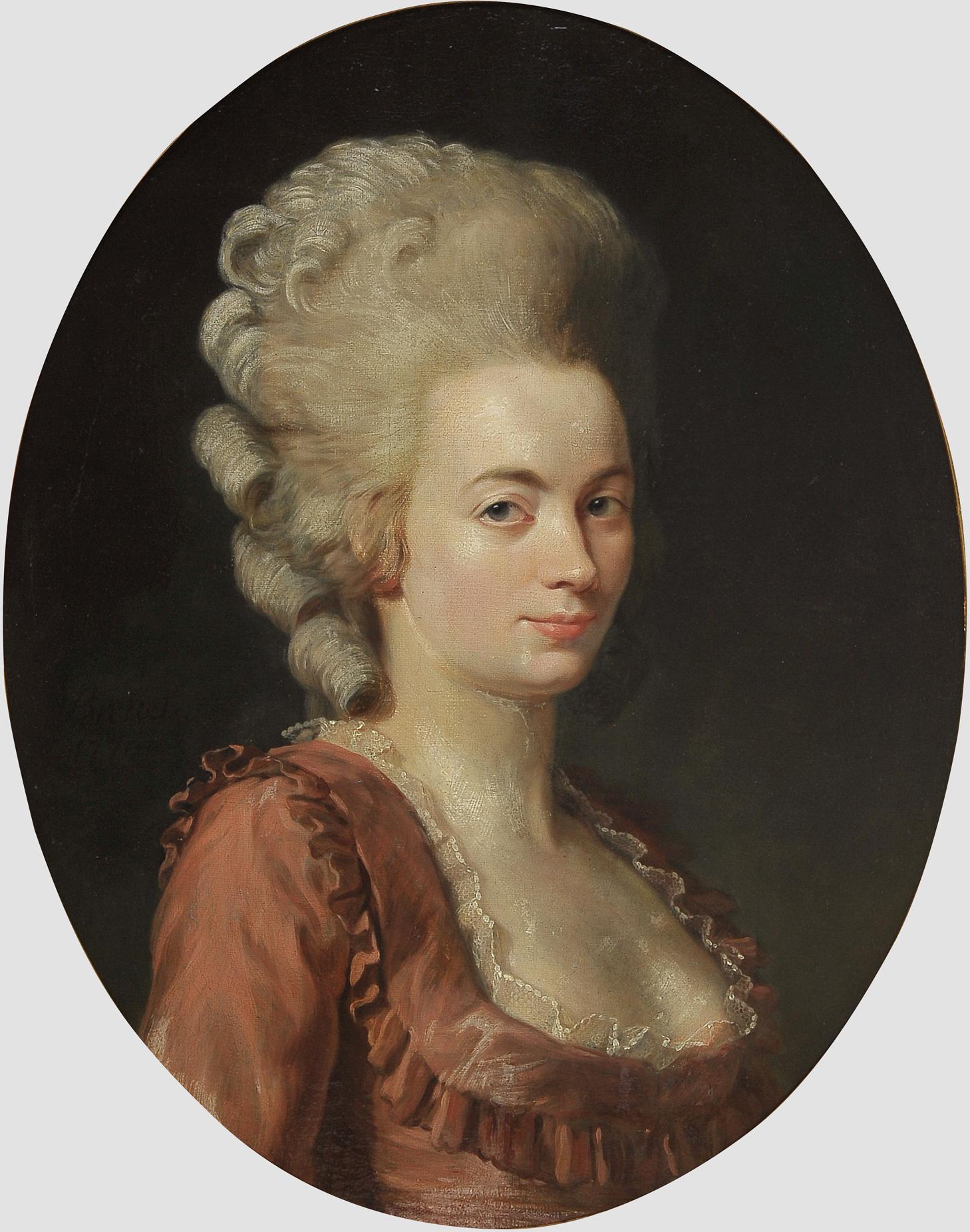 "Nicolas Guy Brenet, Paris 1728 – 1792 Paris, Portraits des Ehepaares ""Von Schauenstein"" - Image 9 of 11"