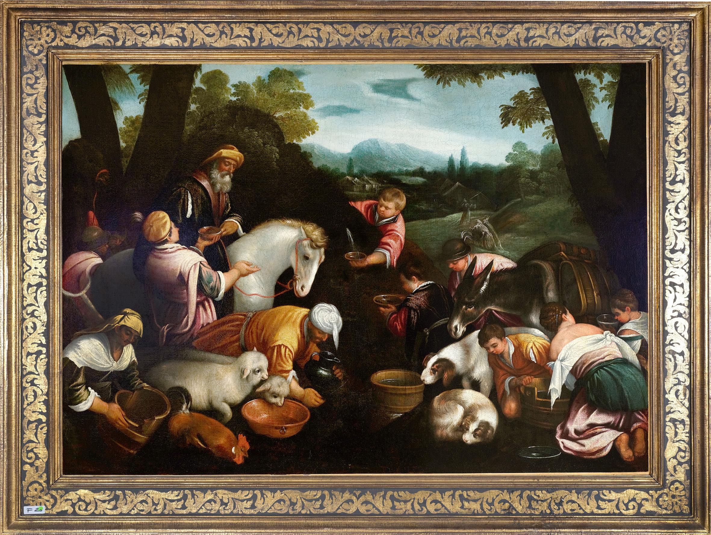 Leandro Bassano, Bassano del Grappa 1575 – 1622 Venedig (Werkstatt), Tiere an der Tränke - Image 2 of 11
