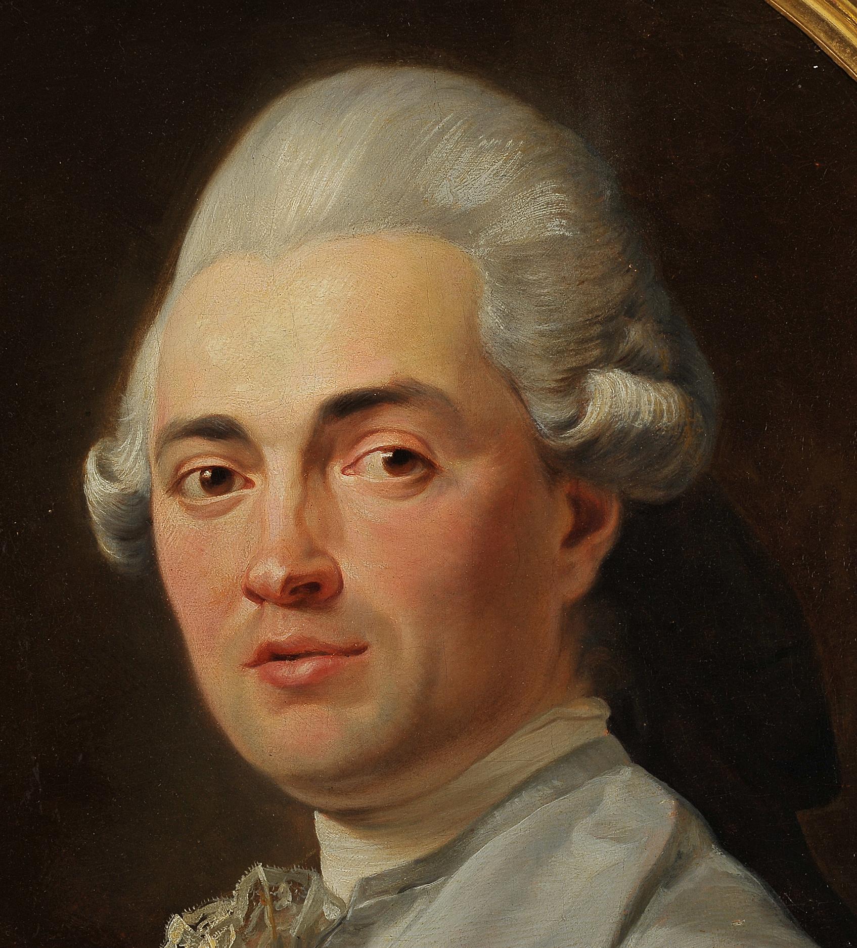 "Nicolas Guy Brenet, Paris 1728 – 1792 Paris, Portraits des Ehepaares ""Von Schauenstein"" - Image 5 of 11"