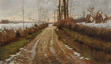 Domenico Mazzoni, Caneva 1852 – 1923 Udine, Landschaft