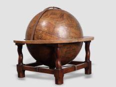 Celestial globe, Guilelmus Blaeuss 1640, Colored copperplate