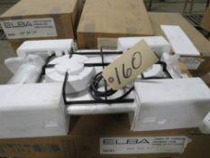 ELBA MDL. 321SSGN 2-BURNER COOKING HOBS, NATURAL GAS