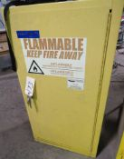 SINGLE DOOR FIRE PROOF SAFETY CABINET