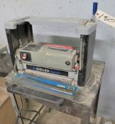 "DELTA SHOPMASTER MDL. TP300 12"" X 5.9"" PORTABLE PLANER, 8000-RPM CUTTER HEAD, S/N: 040235"