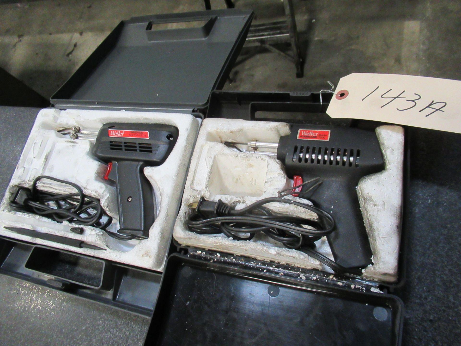 (2) WELLER HEAT GUNS
