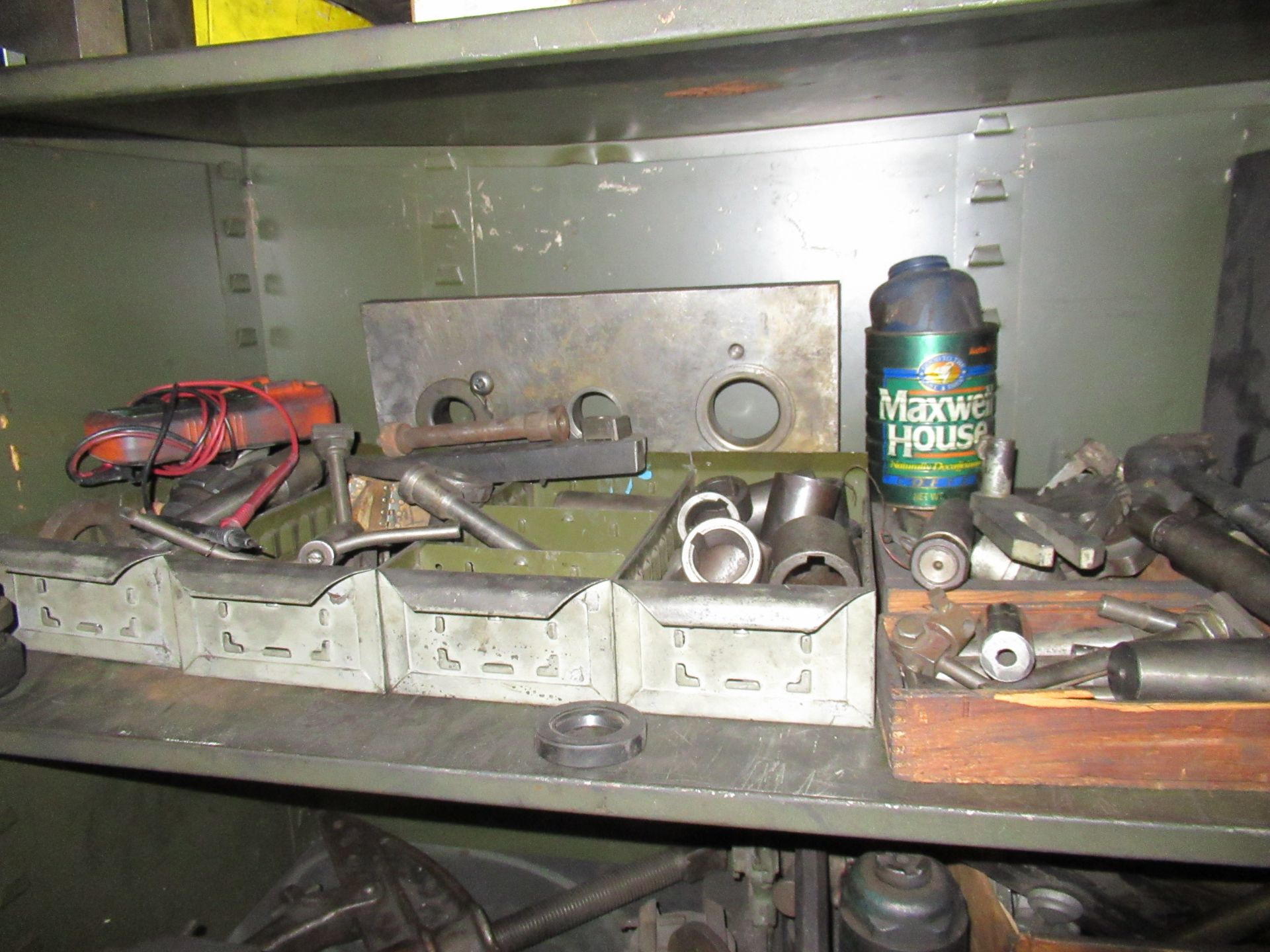 (2) STEEL CABINETS WITH ASSORTED TOOLING AND ACCESSORIES - Image 3 of 6