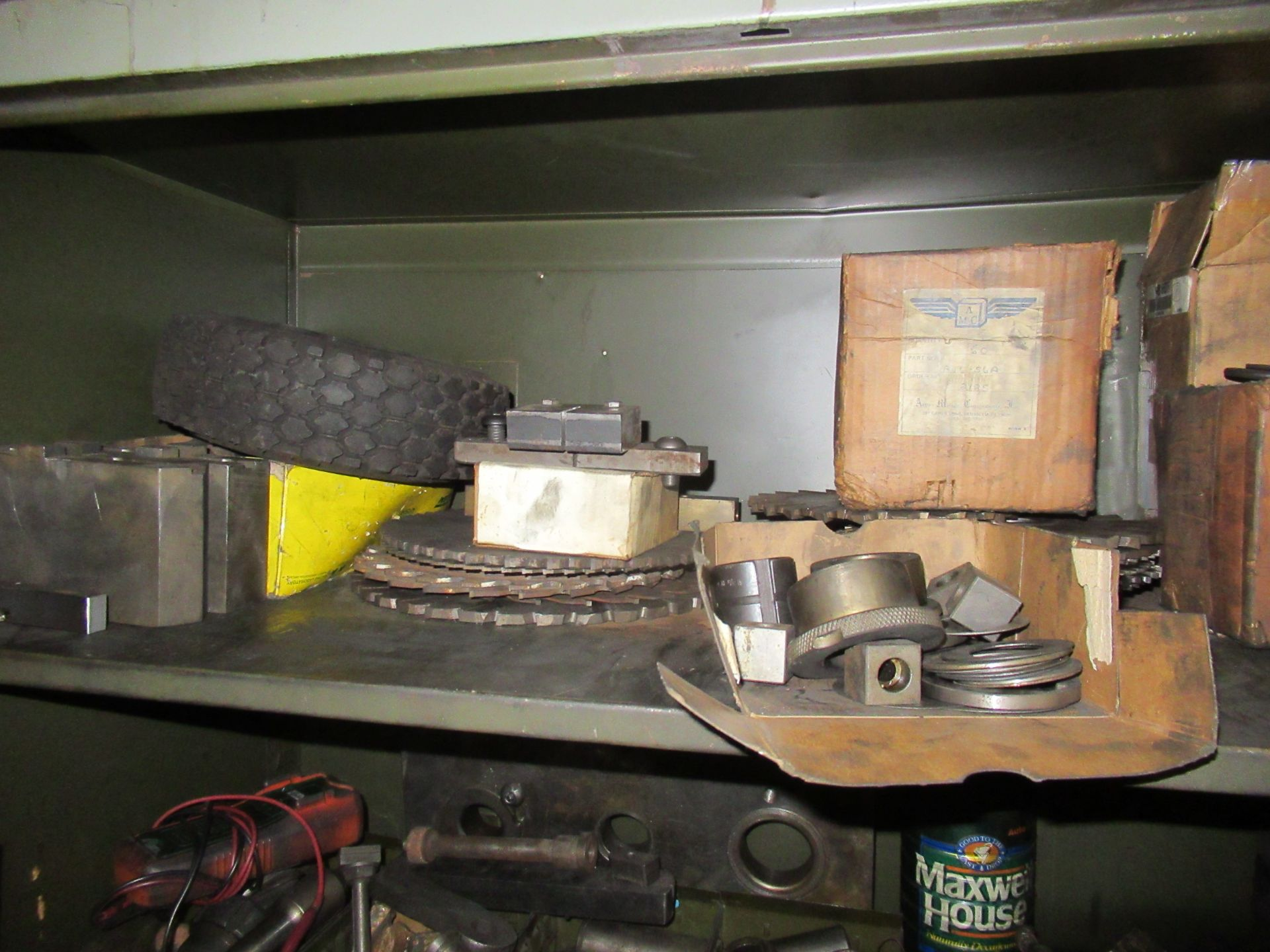 (2) STEEL CABINETS WITH ASSORTED TOOLING AND ACCESSORIES - Image 2 of 6