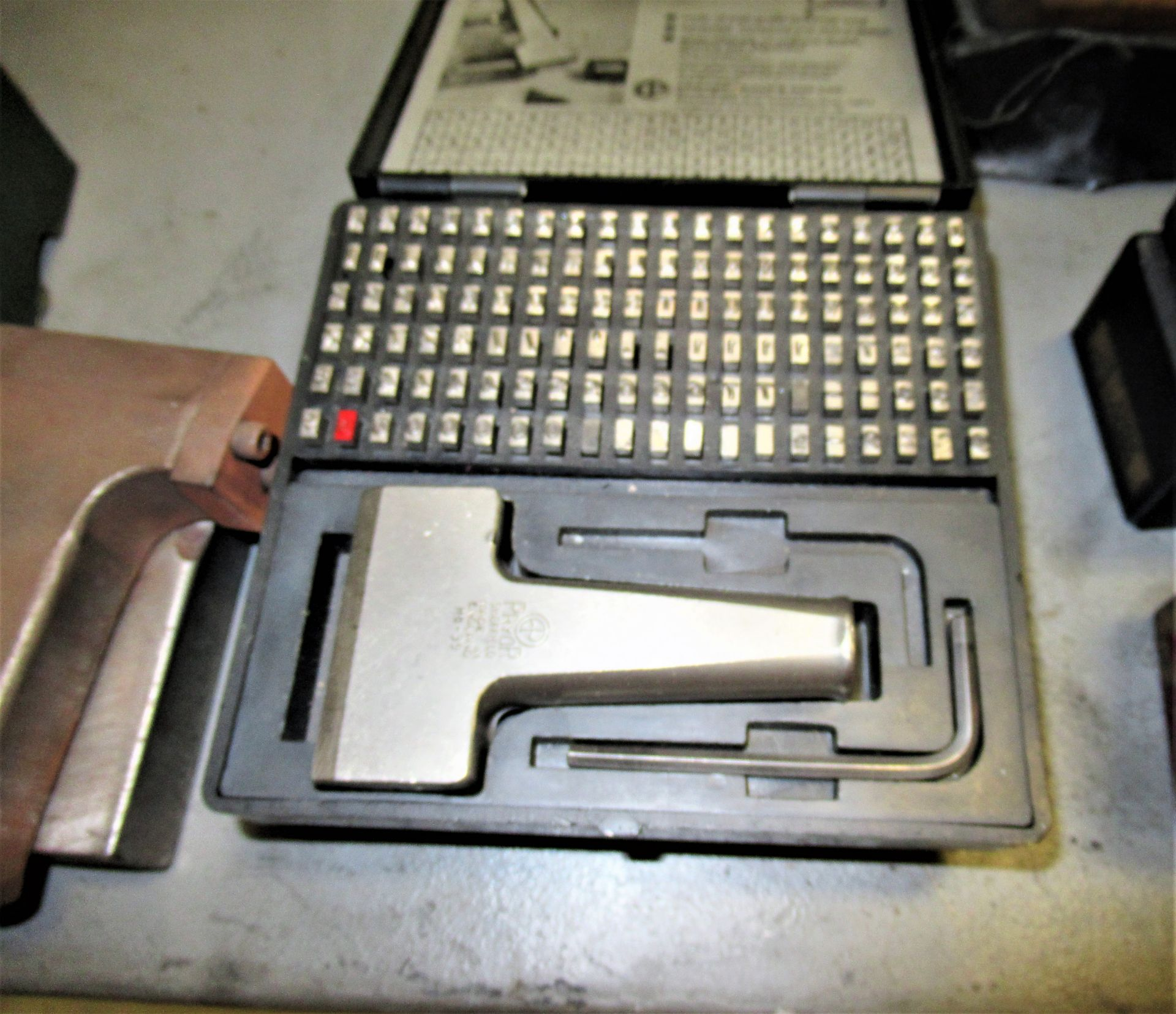 LOT OF LETTER & NUMBER PUNCHES - Image 2 of 2