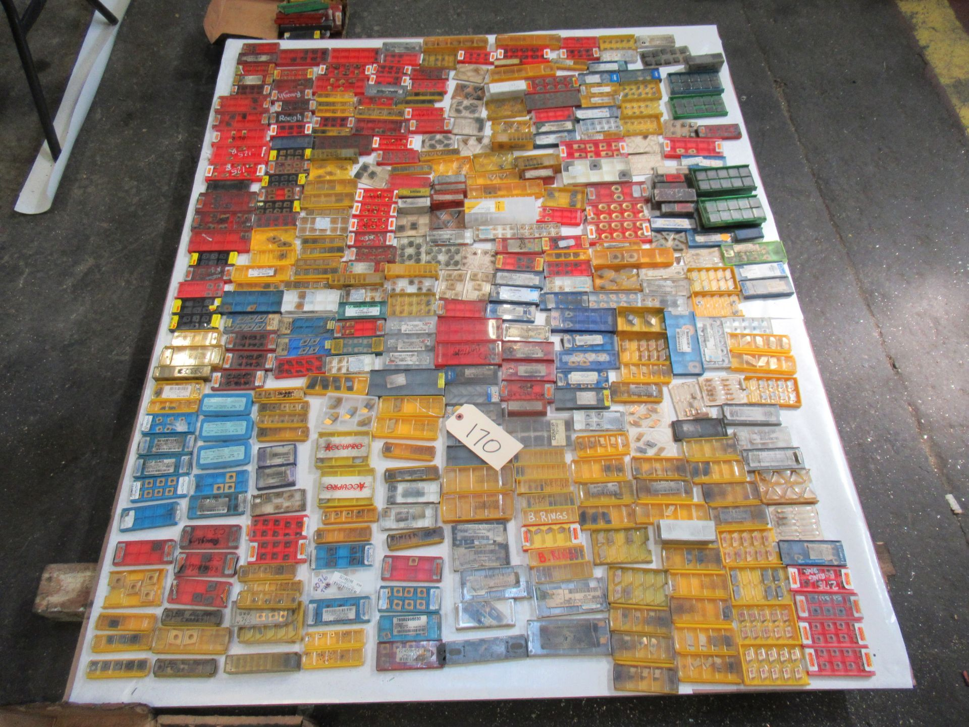PALLET OF ASSORTED CARBIDE