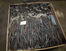 LOT OF ASSORTED THREADED HOLDOWNS