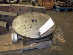 "APPROXIMATELY 16"" ROTARY TABLE"