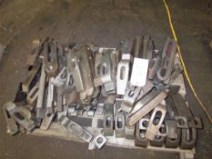 LOT OF HOLDOWN CLAMPS