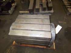 TEE SLOTTED TILTING WORK TABLE