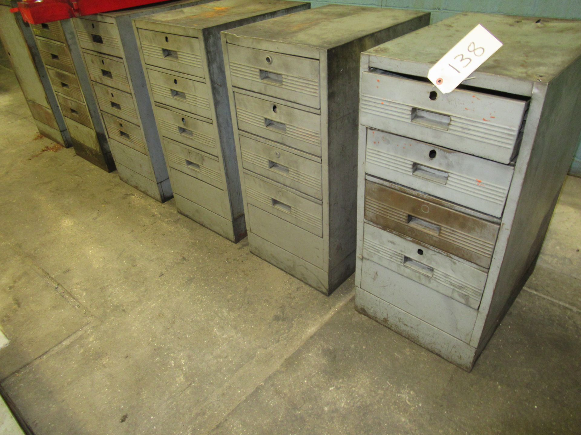 (9) TOOL CABINETS