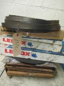 ASSORTED ABRASIVE CUT-OFF BLADES AND HORIZONTAL BANDSAW BLADES