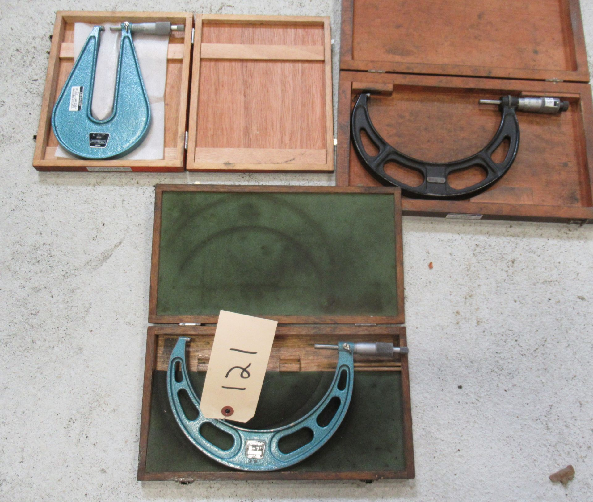 (3) ASSORTED MICROMETERS