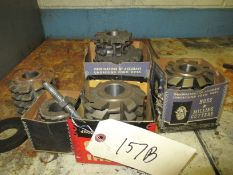 ASSORTED HOB MILL CUTTERS