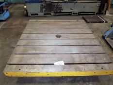 """LUCAS 60"""" X 60"""" TEE SLOTTED ROTARY TABLE"""