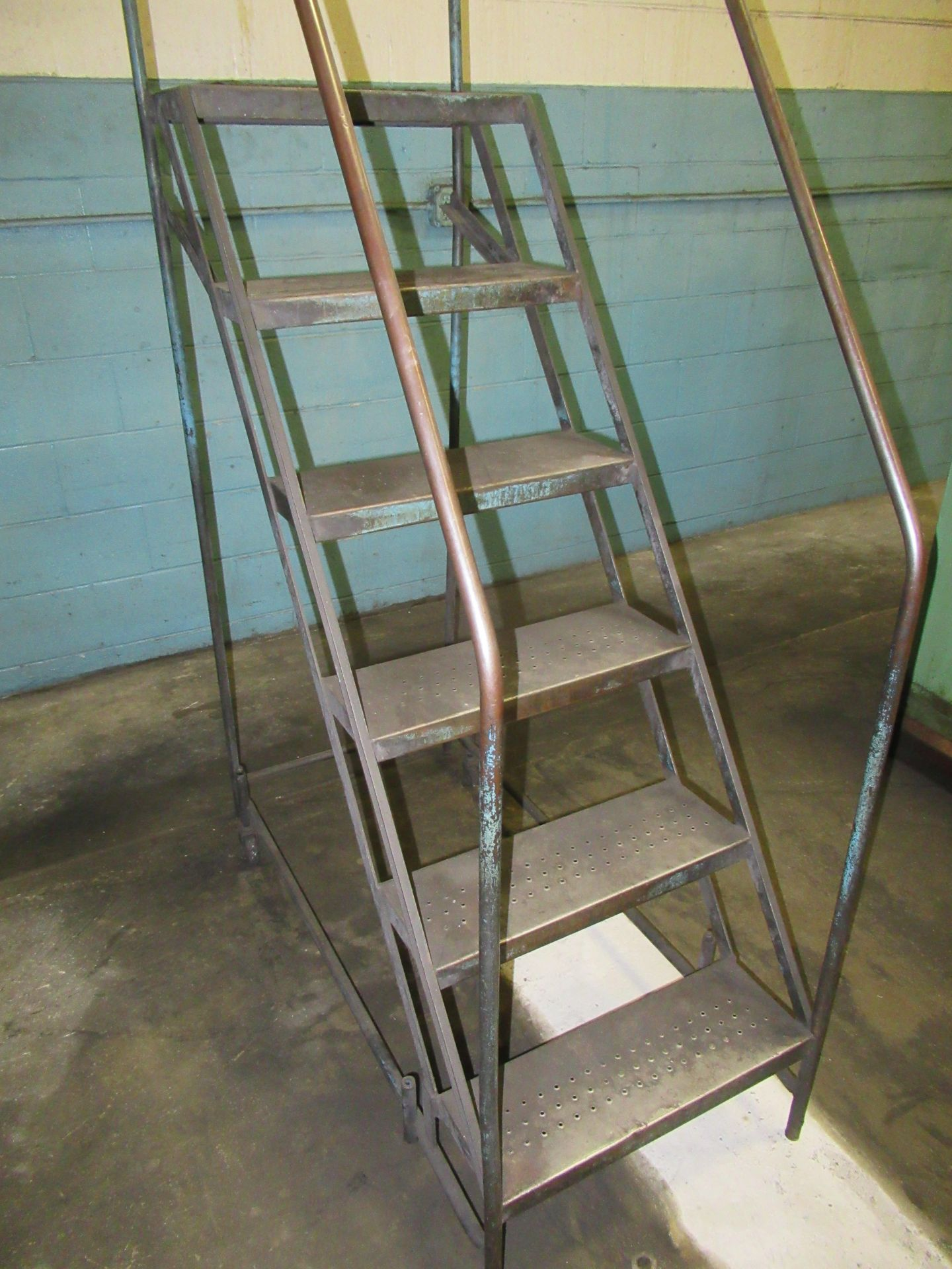 (2) ROLLING STEPS LADDERS - Image 3 of 3
