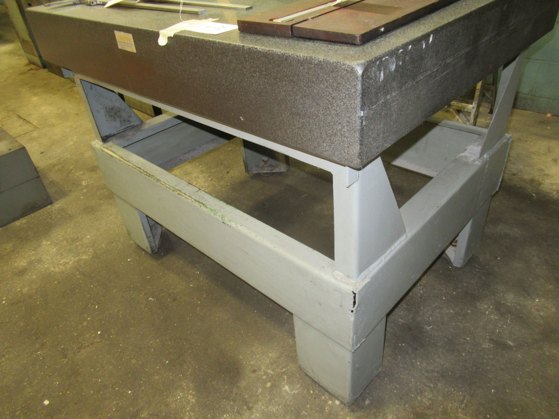 """48"""" X 36"""" GRANITE SURFACE PLATE WITH STAND"""