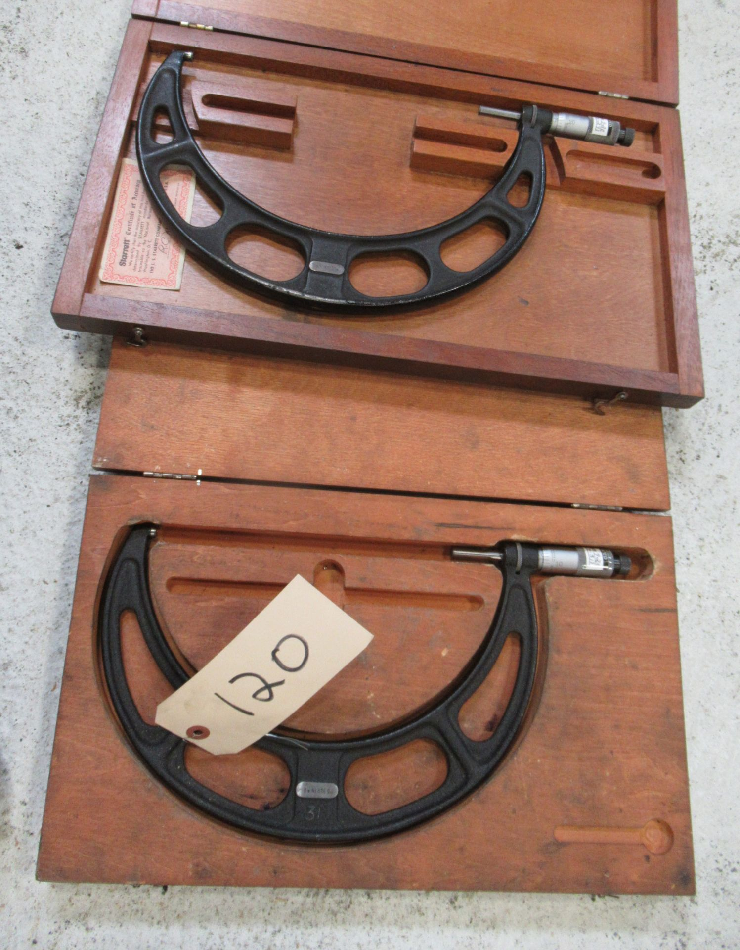 (2) ASSORTED MICROMETERS