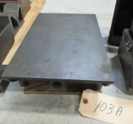 """9"""" x 74"""" STEEL LAY-OUT TABLE"""