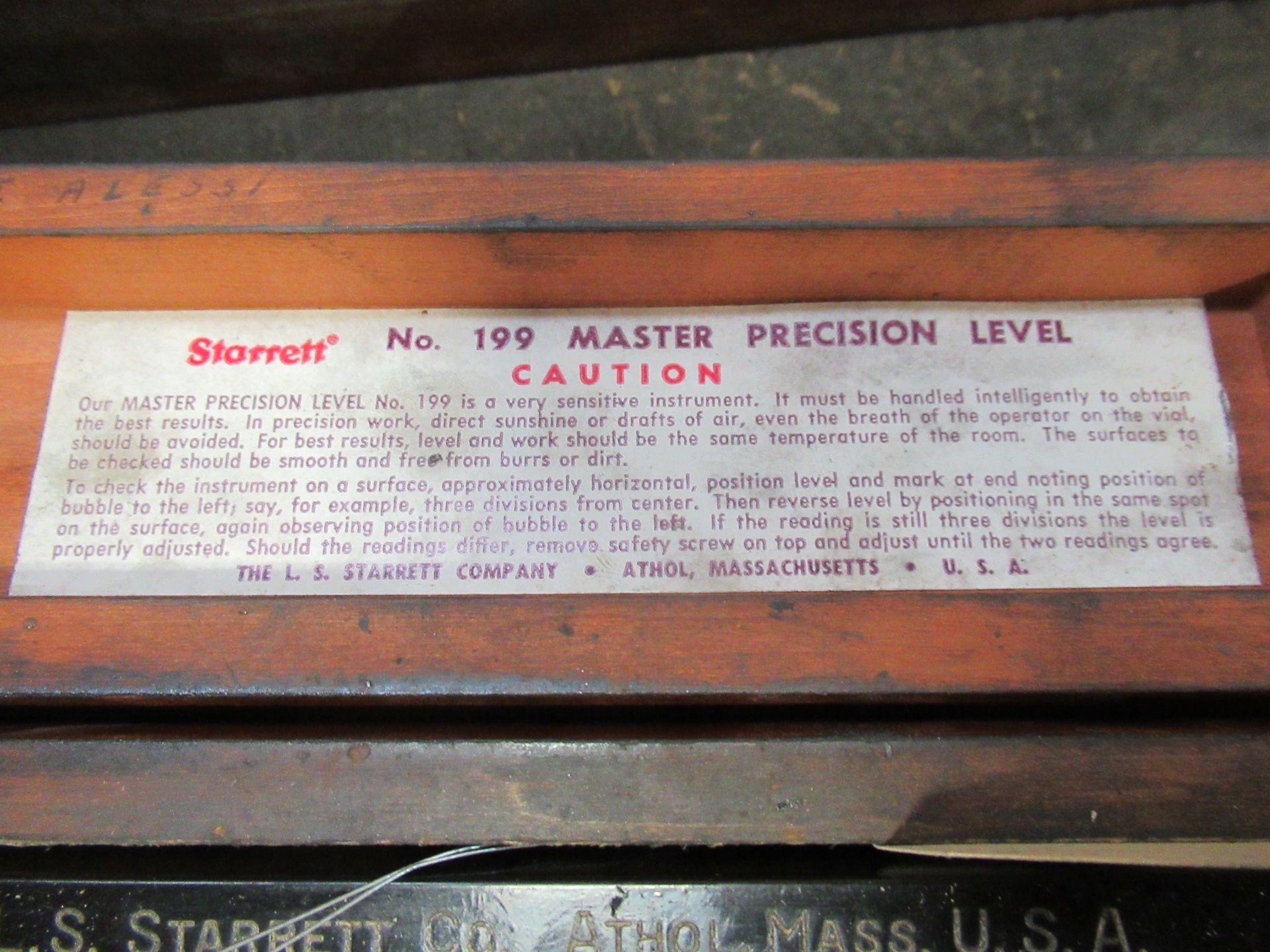 STARRETT 199 MASTER LEVEL - Image 2 of 2