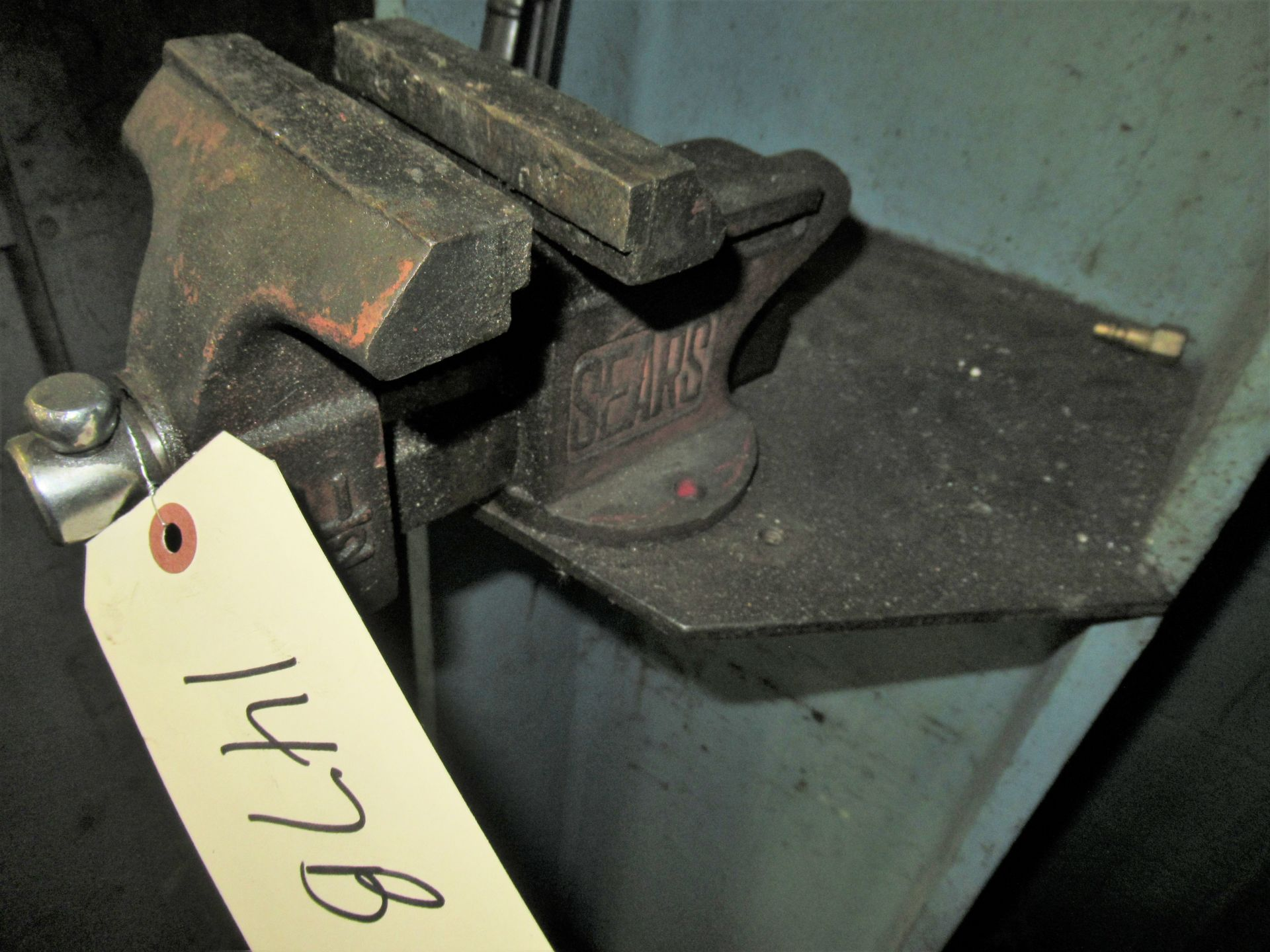 """4 1/2 """" SEARS BENCH VISE"""
