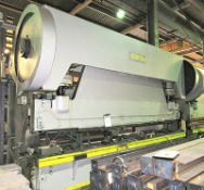Lorain Approx. 200-Ton X 18'OA Mechanical Press Brake. Apprx 16' Between Housing