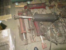 (5) Assorted Hydraulic Cylinders