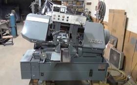 "Kysor Johnson Amada Model HA-250 10"" Automatic Horizontal Bandsaw"