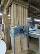 BELFAB MDL.JNBM-1P, 18 BAG DUST COLLECTION SYSTEM, 5HP S/N: 2011-07-25970-1