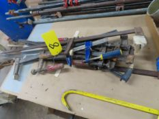LOT OF ASSORTED BARCLAMPS