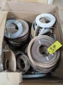 LOT OF ASSORTED EDGE BANDING MATERIAL
