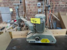 HOLZ MACHINERY,MDL #1978-343, 3 ROLLER POWER FEEDER, S/N: 11247