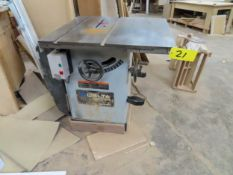 DELTA INDUSTRIAL UNISAW CAT # 36-953 TYPE 2 TABLE SAW S/N: 061047