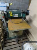 """GRIZZLY 1 1/2 HP 6""""X 36"""" BELT SANDER AND PHASE, 4 POLE, S/N:61204B"""