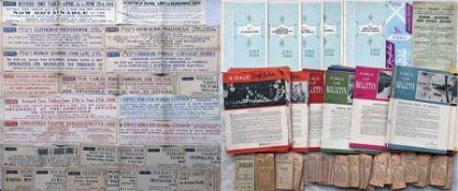 Large bundle of 1930s onwards Ribble Motor Services ephemera comprising 20+ 1930s-50s WINDOW SLIP