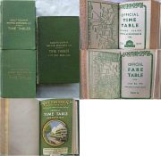 Southdown Motor Services BOUND VOLUMES of TIMETABLES & FARETABLES for 1945, Jan-Aug 1946 and Jan
