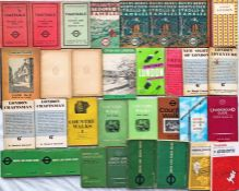Bundle (32 items) of (mainly) 1930s-60s TIMETABLE & PUBLICITY BOOKLETS. Includes Country Bus