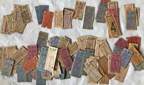 Quantity (approx 150) of c1910-1930s London General Omnibus Company etc PUNCH TICKETS. A good