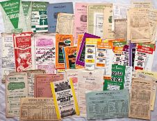 Bundle (approx 80) of mainly 1930s-60s Southdown Motor Services TIMETABLE & EXCURSION LEAFLETS. Huge