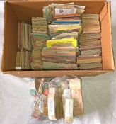 Very large quantity (c9,000) of mostly 1940s/50s bus & tram etc TICKETS from across the UK.