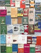 Large quantity (46) of 1950s-70s bus TIMETABLE BOOKLETS from a wide range of operators incl
