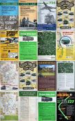 Quantity (16) of 1970s London Country Bus Services double-royal POSTERS incl. pictorial examples for